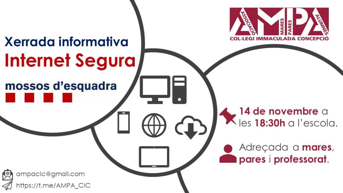 Xerrada Mossos d'Esquadra: INTERNET SEGURA